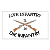 1st Bn 26th Infantry Decal