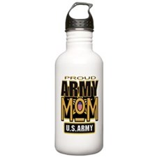 Proud Army Mom Water Bottle