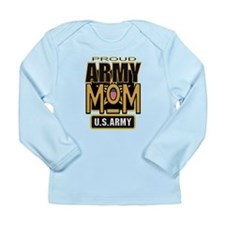 Proud Army Mom Long Sleeve Infant T-Shirt