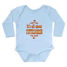 About Ventriloquism Long Sleeve Infant Bodysuit