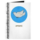 Amani Swahili Peace Dove Journal