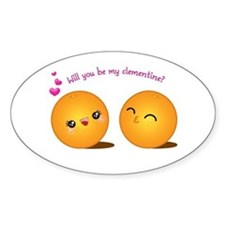 Be My Clementine Decal
