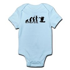 Evolution Snowboarding Snowbo Infant Bodysuit