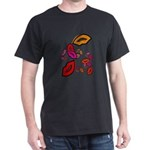 Fibonacci Lips Dark T-Shirt