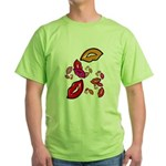 Fibonacci Lips Green T-Shirt