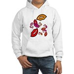 Fibonacci Lips Hooded Sweatshirt