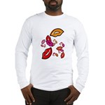 Fibonacci Lips Long Sleeve T-Shirt