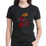 Fibonacci Lips Women's Dark T-Shirt