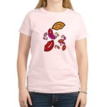 Fibonacci Lips Women's Light T-Shirt