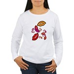 Fibonacci Lips Women's Long Sleeve T-Shirt