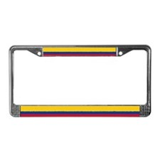 Colombian Flag License Plate Frame