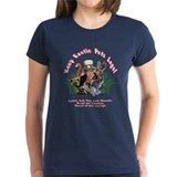 Women's Dark Keep Exotic Pets Legal T-Shirt