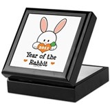 Year Of The Rabbit Keepsake Box
