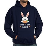 Year Of The Rabbit Hoodie (dark)