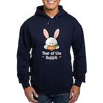 Year Of The Rabbit Hoodie (dark)