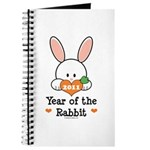 Year Of The Rabbit Journal