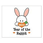 Year Of The Rabbit Small Poster