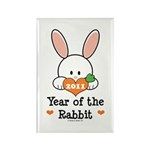 Year Of The Rabbit Rectangle Magnet (10 pack)