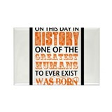Funny This day in history Rectangle Magnet (100 pack)