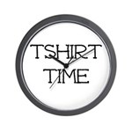 Tshirt Time Wall Clock
