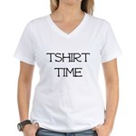 Tshirt Time Women's V-Neck T-Shirt