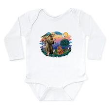 St Francis #2/ Chow (R) Long Sleeve Infant Bodysui