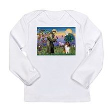 St Francis / Collie Long Sleeve Infant T-Shirt
