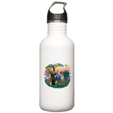 St.Fran. #2/ Great Dane (nat) Water Bottle