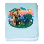 St.Francis #2/ Great Dane (bl baby blanket