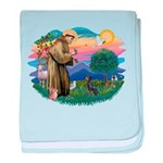 St.Francis #2/ Manchester T baby blanket