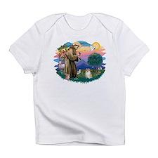 St.Francis #2/ Pomeranian (f) Infant T-Shirt