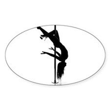 Cool Pole dancer Decal
