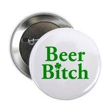 """Beer Bitch 2.25"""" Button (10 pack)"""