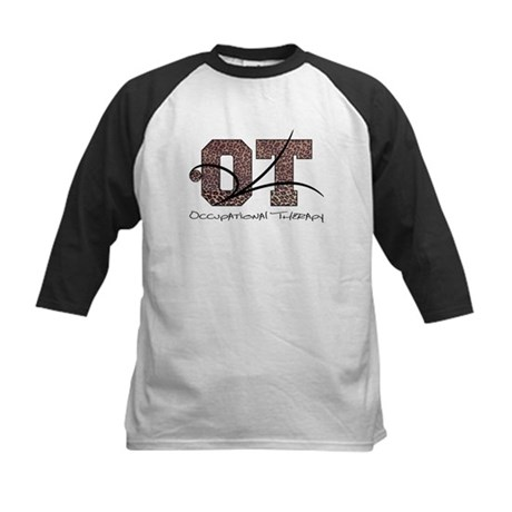 Leopard Kids Baseball Jersey