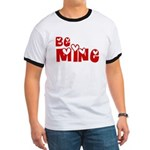 Be Mine Valentines Day Hearts Ringer T