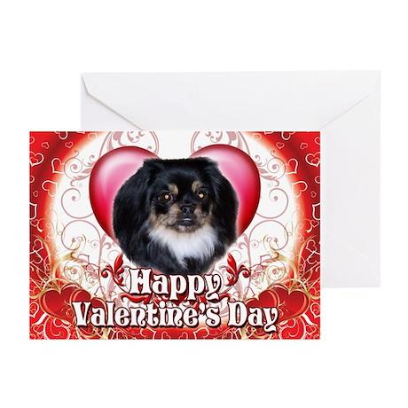 Happy Valentine's Day Pekingn Greeting Cards (Pk o