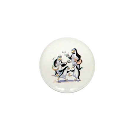 pEnGuInS sWiNgInG Mini Button (100 pack)