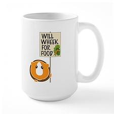Will Wheek for Food Coffee Mug