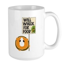 Will Wheek for Food Mug