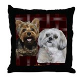 Yorkshire Terrier Throw Pillow