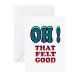 FEELING GOOD Greeting Cards (Pk of 10)