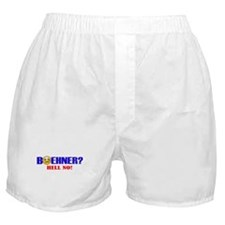 Boehner HELL NO Boxer Shorts