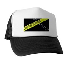 Crime Scene Trucker Hat