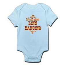 About Line Dancing Infant Bodysuit