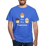 Live Love Cupcakes Dark Dark T-Shirt