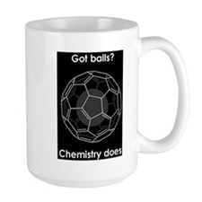 Buckyball Got Balls-Chemistry Does Coffee Cup Mug