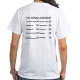 Vet School Checklist Shirt
