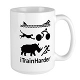 iTrainHarder Coffee Mug