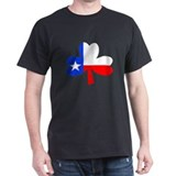 Texas Irish Black T-Shirt