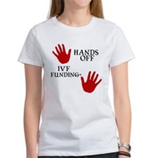 Hands Off IVF Funding Tee